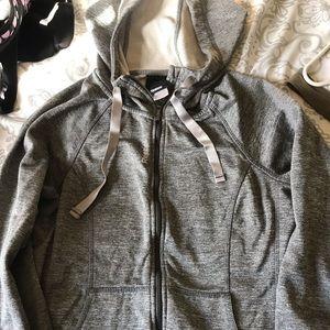 Gray Reebok sweater